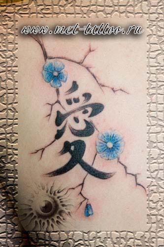 """вариации тату на тему """"маленького черненького иероглифа"""""""""""